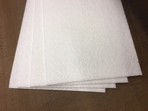 1.9 lb 9mm EPP foam (4) sheets